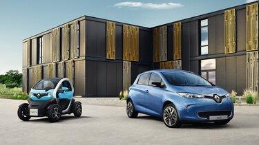 Modelprogram med elbiler – Renault