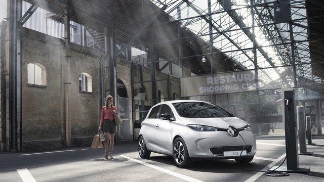 Renault ZOE şarjı