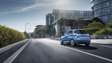 Renault ZOE - külső megjelenés hátul
