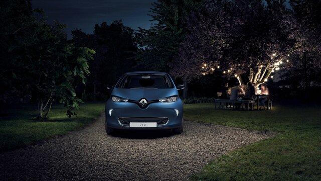 Renault ZOE - elölnézet