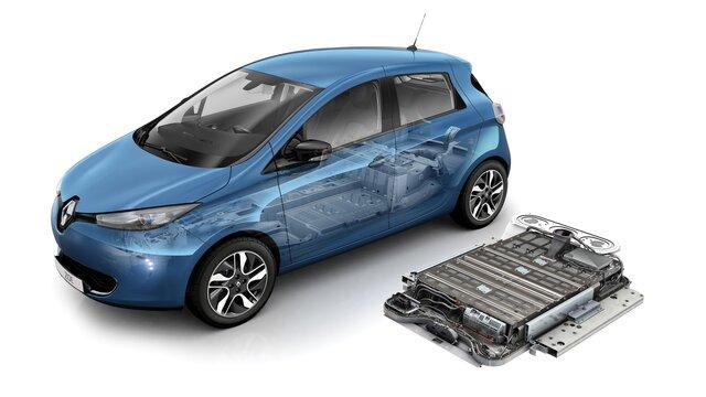 Renault ZOE ‒ akumulátor