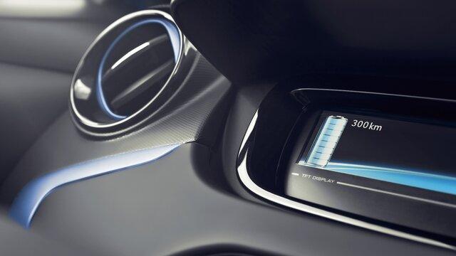 Renault ZOE - kék dekorcsomag