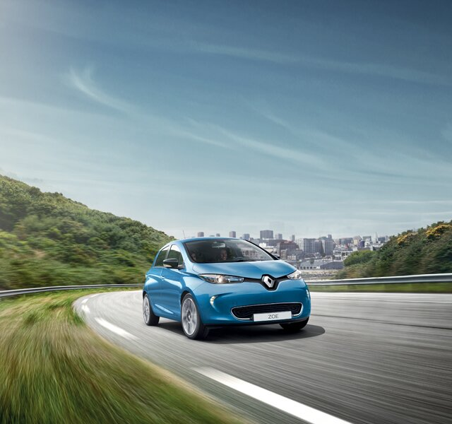 Renault ZOE dış tasarım