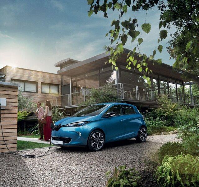 Renault ZOE recarga