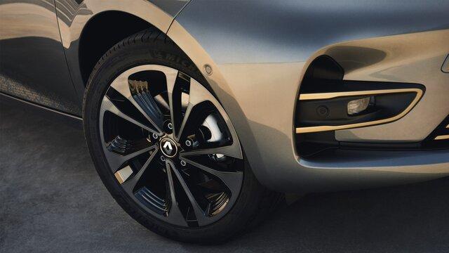 Renault ZOE zwarte velg