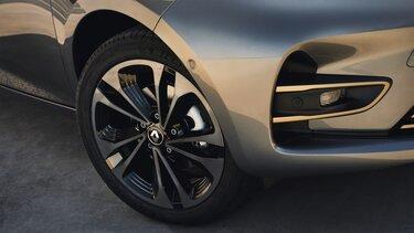 Renault ZOE schwarze Leichtmetallräder