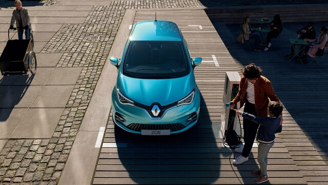 Renault - Charge your vehicle