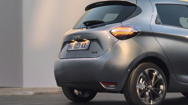 Protection du bord de chargement Renault ZOE