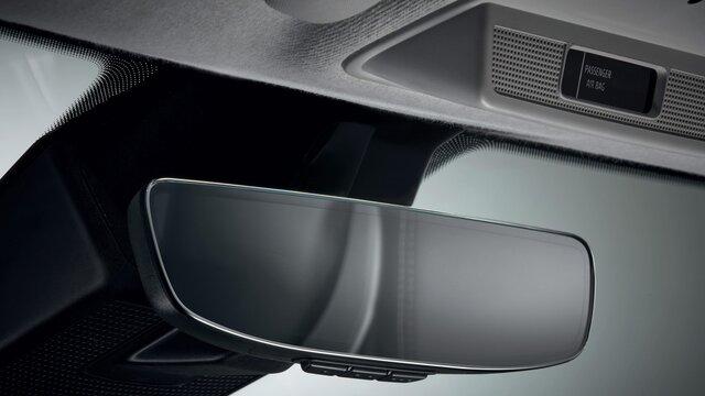 Renault ZOE achteruitkijkspiegel