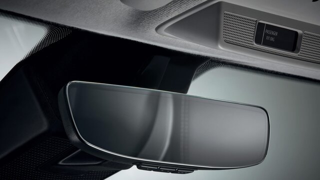 Renault ZOE rear-view mirror