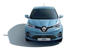 Renault ZOE headlights and bonnet