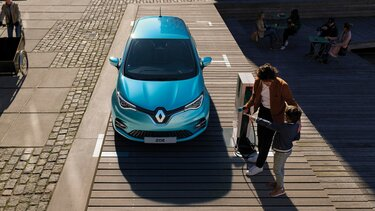 Renault ZOE – laddning