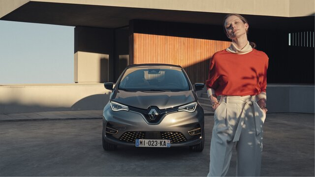 All-new ZOE driving range charging