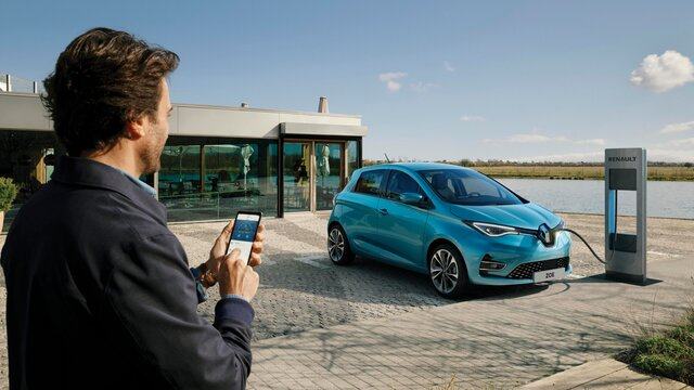 Renault ZOE - Application MY Renault