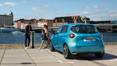 Renault ZOE Heckpartie