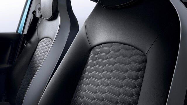 Stoelen in de Renault ZOE
