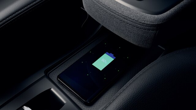 Renault ZOE induction charger