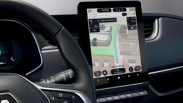 Renault ZOE - navigatiescherm