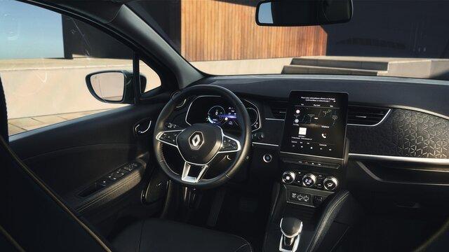 Renault ZOE interior, painel de instrumentos
