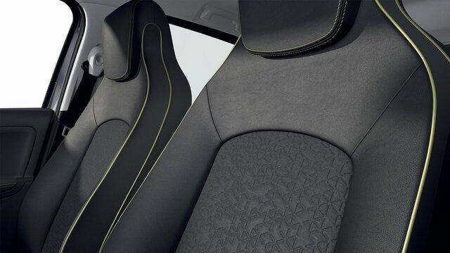 Renault ZOE - Interieur - Stoelen voorin en achterin