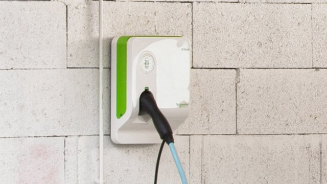 All-new ZOE Wallbox home charger