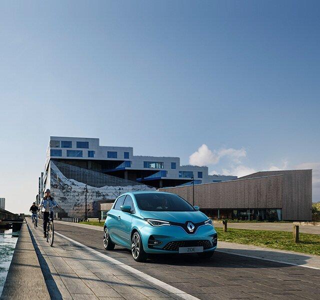 Renault ZOE citadino elétrico