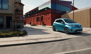 Samochód osobowy Renault Zoe E-Tech elektryczne