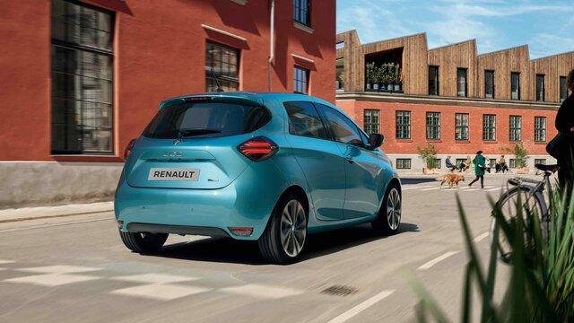 Vůz ZOE usnadňuje váš každodenní život a nabízí vám zážitek z jízdy s elektrickým pohonem.
