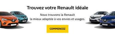 Trouvez votre Renault idéale - Comparateur de voitures