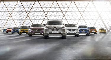 The Renault passenger car range