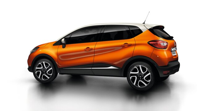Renault CAPTUR orange habitable