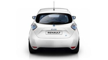 Parte posterior de Renault ZOE