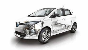 Renault ZOE scanner châssis