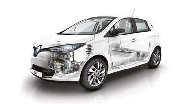 Renault ZOE scanner chassis