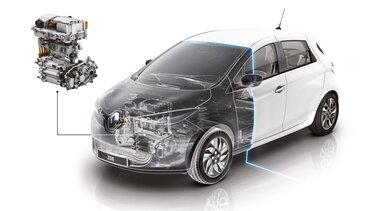 Renault ZOE scanner capot