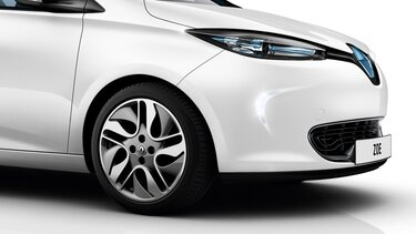 Renault ZOE close-up front