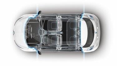 Renault ZOE interno abitacolo