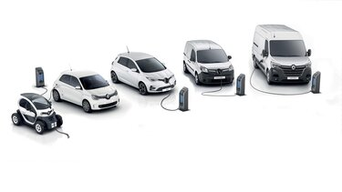 Renault Professionnel :  gamme électrique