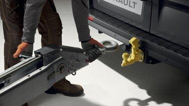 Firemní zákazníci Renault: příslušenství - tažný hák