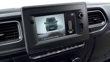 Firemní zákazníci Renault: příslušenství - zadní parkovací kamera