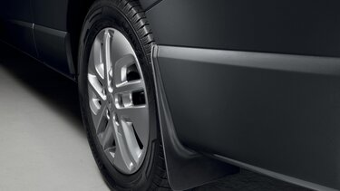 Zakelijke klanten bij Renault: accessoires - Spatlappen achter