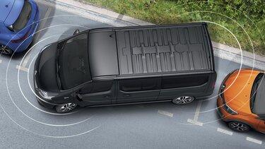 Firemní zákazníci Renault: příslušenství - zadní parkovací asistent