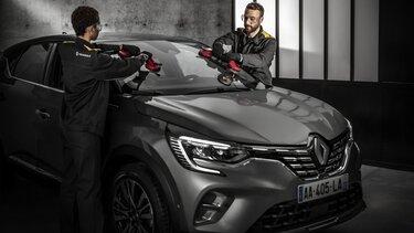 Zakelijke klanten bij Renault: onderhoud van de voorruit