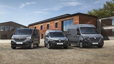 Zakelijke klanten bij Renault: reeks bedrijfswagens