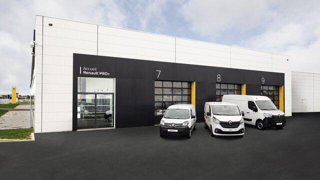 Renault PRO+ : réseau pour les professionnels