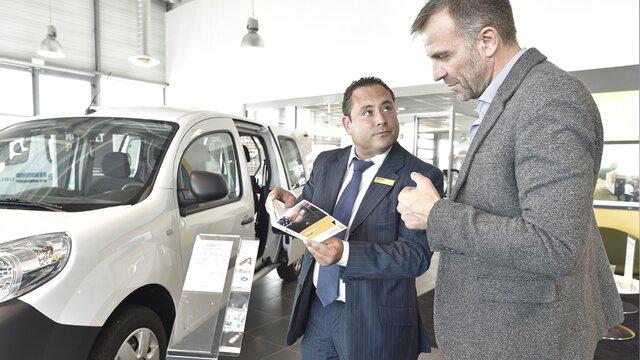 Des experts Renault dédiés