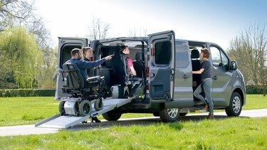 Beförderung von Personen mit eingeschränkter Mobilität (TPRM)