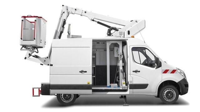 Transformation nacelle élévatrice Renault