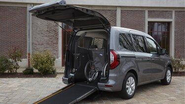 Transport de personnes à mobilité réduite TPMR