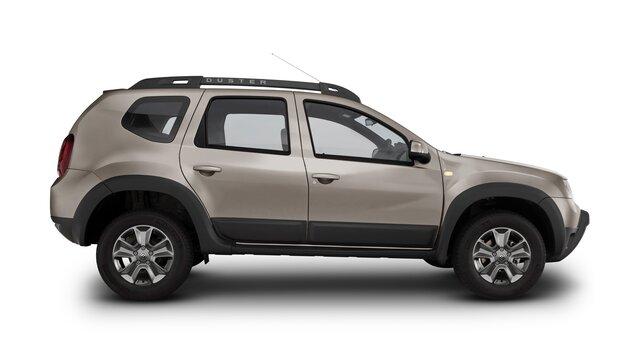 renault duster  color beige ceniza